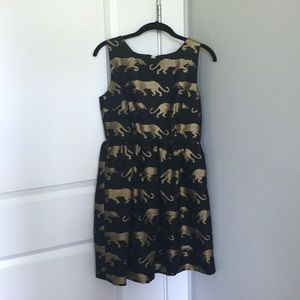 Anthropologie Panthere Dress